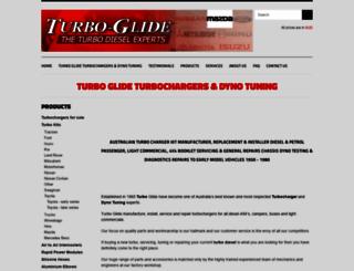turboglide.com.au screenshot
