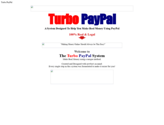 turbopaypal.theenterprisemind.com screenshot