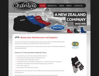 turboracewear.co.nz screenshot