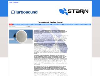 turbosound.starin.biz screenshot