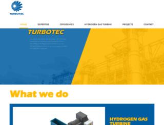turbotec.be screenshot
