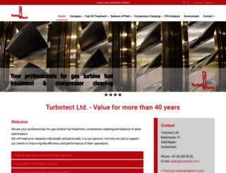 turbotect.com screenshot