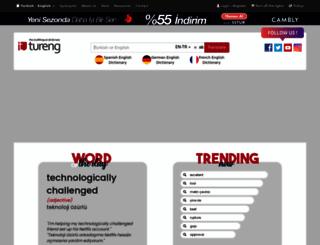 tureng.com screenshot