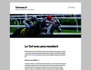 turf-avec.fr screenshot