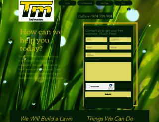 turfmastersjax.com screenshot