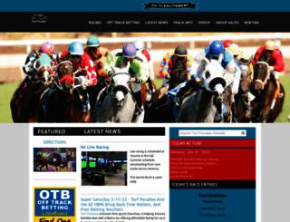 turfparadise.com screenshot