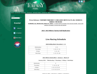 turfway.com screenshot