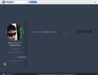 turguttuncel.blogcu.com screenshot