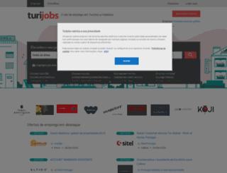 turijobs.pt screenshot