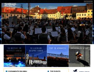 turism.sibiu.ro screenshot