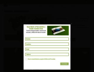 turismo-responsable.com screenshot