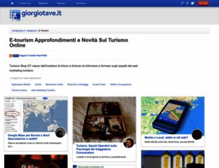 turismo.giorgiotave.it screenshot