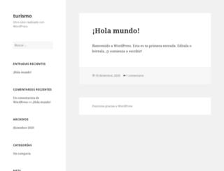 turismo.infoclima.com screenshot