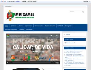 turismo.mutxamel.org screenshot