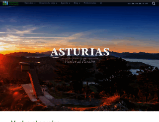 turismoasturias.es screenshot
