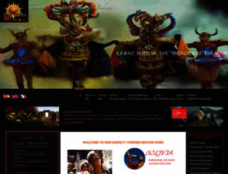 turismoboliviaperu.com screenshot