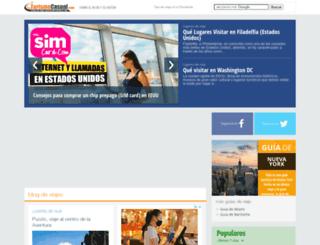 turismocasual.com screenshot