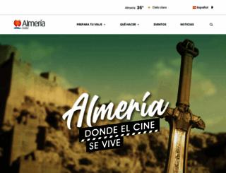 turismodealmeria.org screenshot