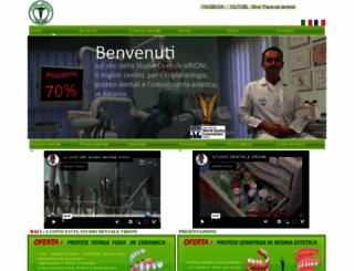turismodentale.al screenshot