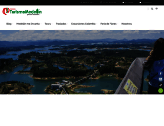 turismoenmedellin.com screenshot