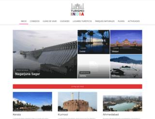 turismoindia.es screenshot