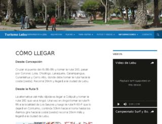 turismolebu.cl screenshot