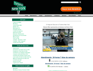 turismonewyork.com.br screenshot