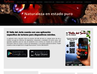 turismovalledeljerte.com screenshot
