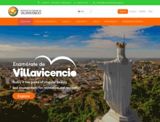 turismovillavicencio.gov.co screenshot