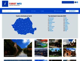 turistinfo.ro screenshot