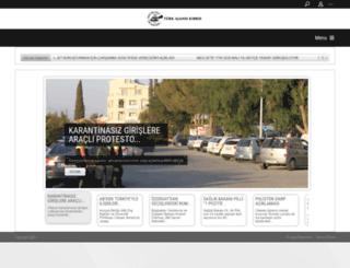 turkajansikibris.org screenshot