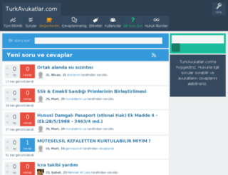 turkavukatlar.com screenshot