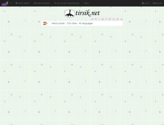 turkcekurtcesozluk.com screenshot