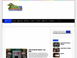 turkedebiyati.org screenshot