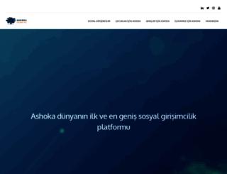 turkey.ashoka.org screenshot