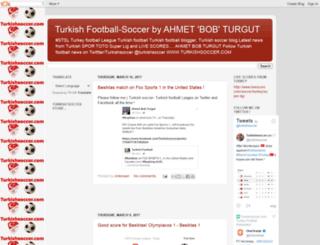 turkeyfootball.blogspot.com screenshot