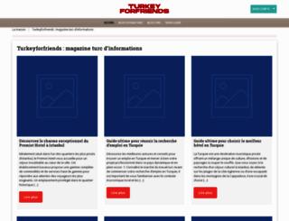 turkeyforfriends.com screenshot