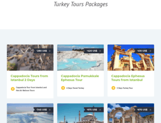 turkeytraveltours.com screenshot