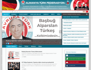 turkfederasyon.com screenshot