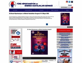 turkhipertansiyon.org screenshot