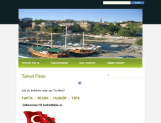 turkietfakta.se screenshot