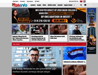 turkinfo.nl screenshot