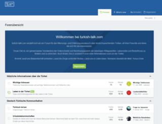 turkish-talk.com screenshot