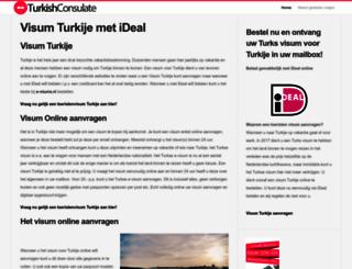 turkishconsulate.nl screenshot