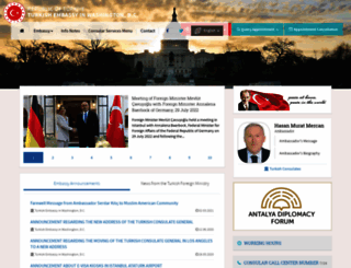 turkishembassy.org screenshot