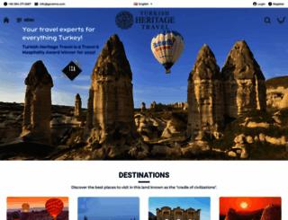 turkishheritagetravel.com screenshot