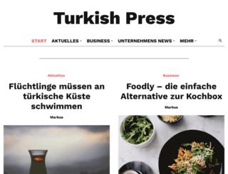 turkishpress.de screenshot