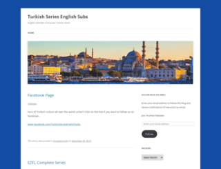 turkishseriesenglishsubs.wordpress.com screenshot
