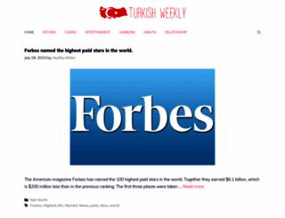 turkishweekly.net screenshot