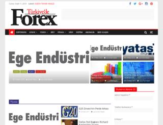 turkiyedeforex.com screenshot